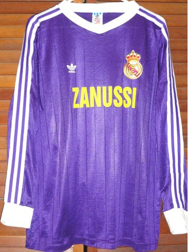 real madrid away shirt