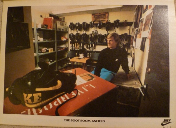nike air anfield boot room advert