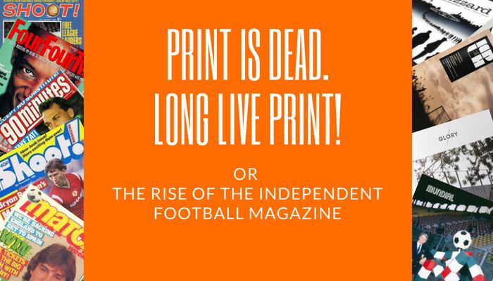 Print is Dead. Long Live Print